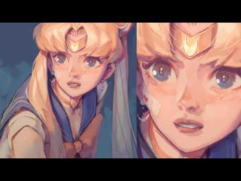 Sailor Moon Redraw Speedpaint (Paint Tool SAI)