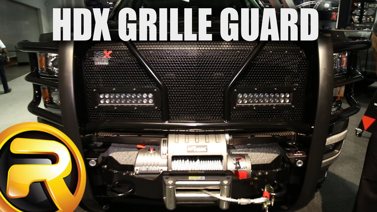 Westin Hdx Grille Guard At Sema 2015 Youtube