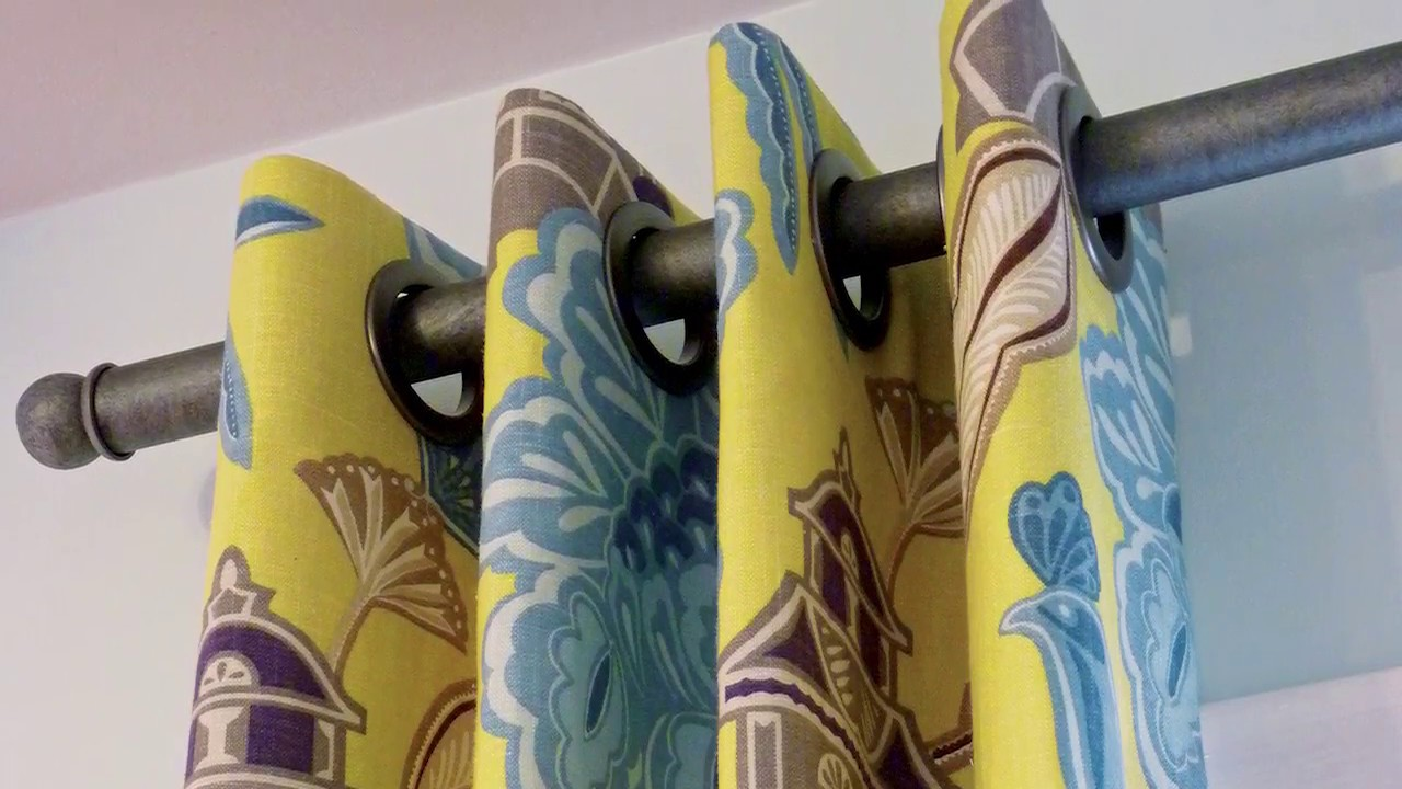 How To Make A Grommet Curtain