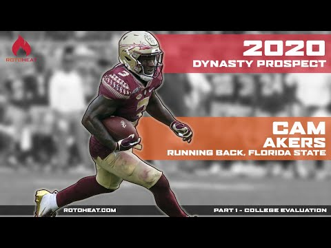 Cam Akers - Dynasty Football Rookie - 2020 NFL Draft Prospect