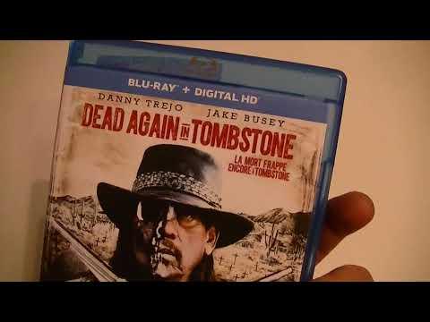 Présentation (unboxing) du film Dead Again in Tombstone en format Blu-ray