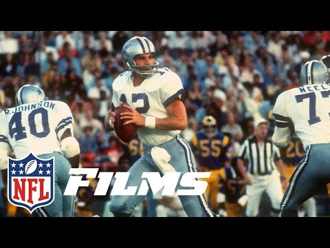 #9 Roger Staubach | NFL Films | Top 10 Quarterbacks Of All Time