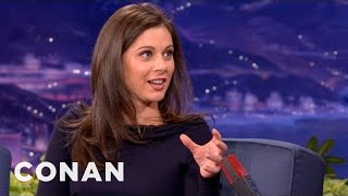 Erin Burnett Interview Part 1 10/23/12 - CONAN on TBS