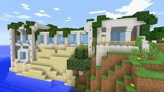 Красивый дом в minecraft - Постройки - Карты