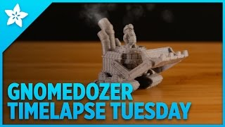 Gnomedozer | 3D Printed Table Top Game Pieces - Timelapse Tuesday