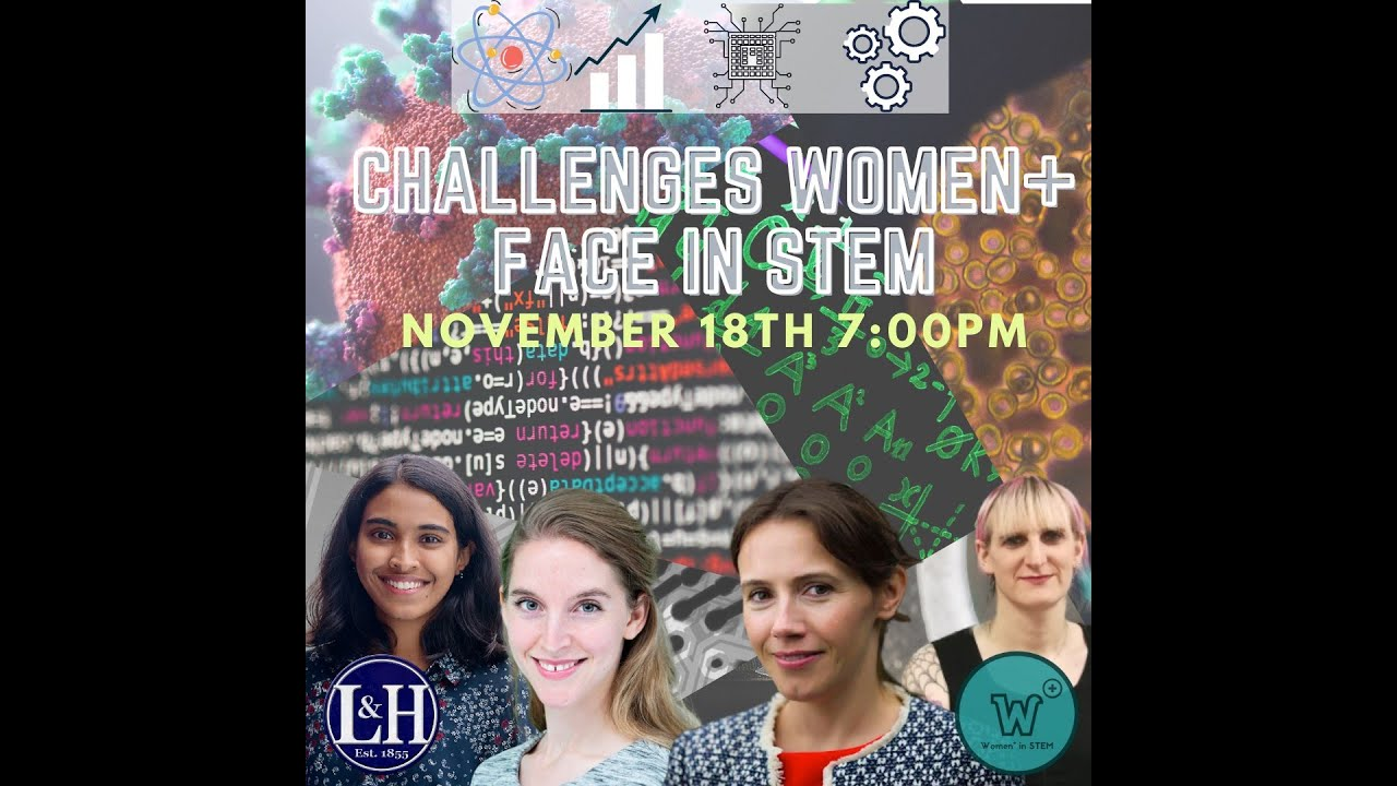 UCD Women+ In Stem and UCD L&H Collaboration: Challenges Women Face In Stem.