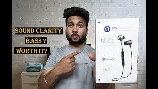 Muve Acoustics Edge Bluetooth Earphones- Paise doob gaye?