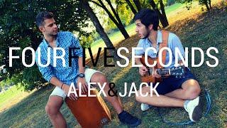 FourFiveSeconds - Rihanna, Kanye West, Paul McCartney (Alex&Jack acoustic cover)
