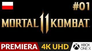 Mortal Kombat 11 PL  #1 (odc.1) ⚡️ Mega fabuła | Gameplay po polsku 4K