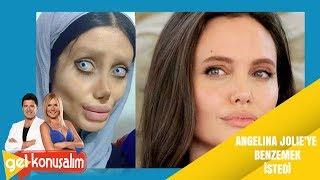 Angelina jolie benzeyen kadın