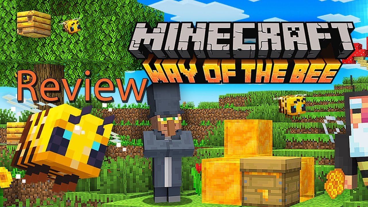 Minecraft Way of the Bee Gameplay Review Bee Guide Tutorial YouTube
