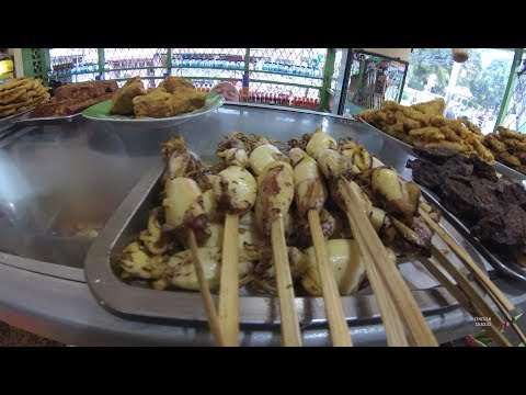 Jakarta Street Food 1704 Part.3 Beautiful Fried Egg Tegal Food WarMo Warteg Mojok Tebet