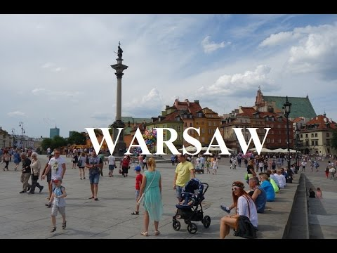Poland/Warsaw (Walking tour/Old Town) Part 4