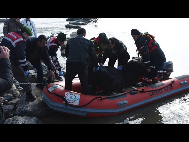 TO ESCAPE FROM ERDOGAN'S PERSECUTION DROWN IN EVROS RIVER