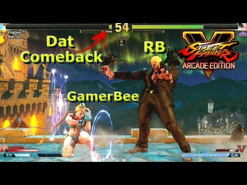 SFV AE - When RB Urien Meets GamerBee Cammy | First To 5