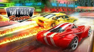 Hot Rod Racers: Gameplay trailer - free on iOS, Android, Windows Phone and Miniclip.com