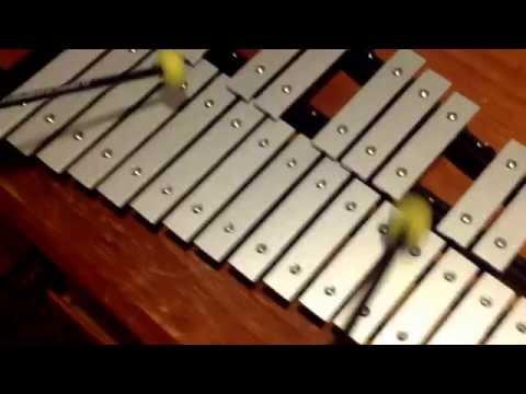 Happy birthday on xylophone