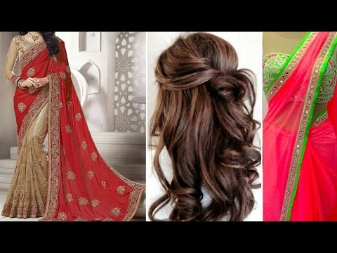 3 Gorgeous Ways Of Party Style Saree Draping Tutorial Step By Step