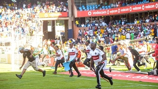 SHOCKING Orlando Pirates Fans Violently Invade Pitch