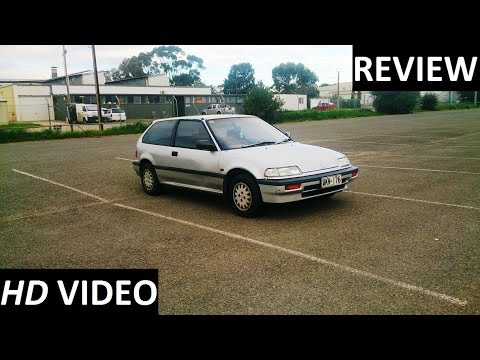 1988 Honda Civic GL Review