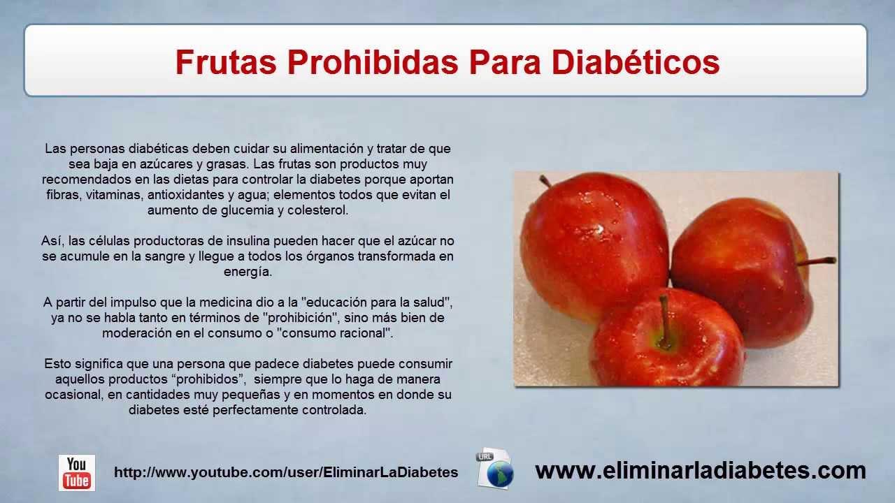 Frutas Prohibidas Para Diabeticos | Lo Que Debes Saber