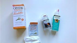 IHERB: Crystal Body Deodorant (Дезодоранты Кристал) - Видео обзор