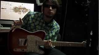 Как играть на гитаре Dёргать! - Кленовый сироп (гитарные партии)