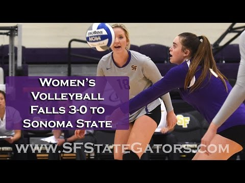 Women's Volleyball Falls To Sonoma State In Straight Sets ...