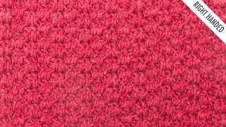 The Bloque Stitch :: Crochet Stitch #340 :: Right Handed