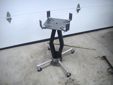 How to Make a Transmission Jack- Part Two