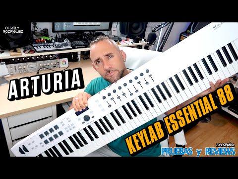 ARTURIA KEYLAB ESSENTIAL 88🎹 (Pruebas Y Reviews) En Español