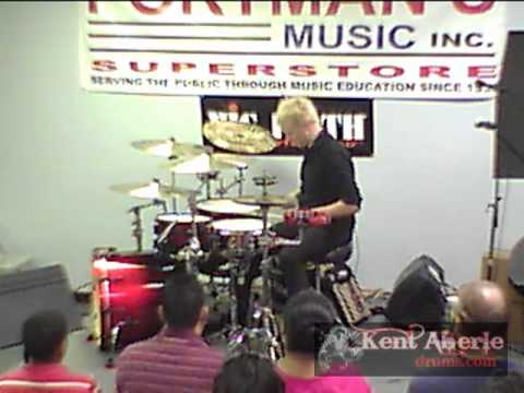Kent Aberle at Portman's Music- Savannah, gA