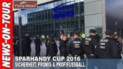 SparhandyCup 2016: Sicherheit, Promis & Profifussball (TV-Beitrag!)