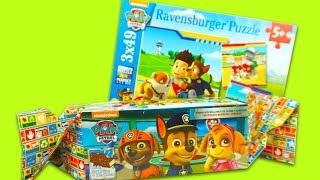 Щенячий патруль игрушки, сюрпризы, пазлы с героями мультика