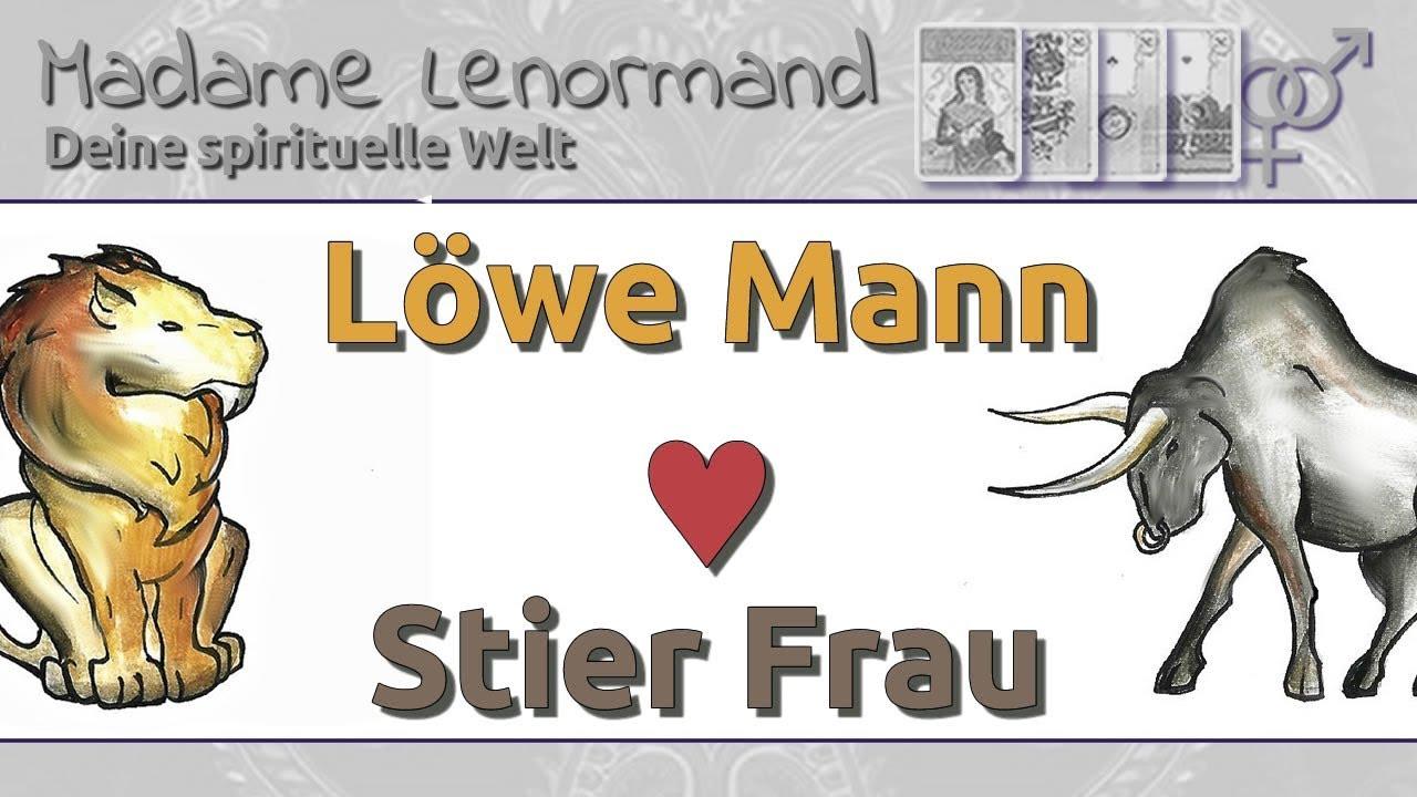 Löwe Mann & Stier Frau: Liebe und Partnerschaft - YouTube