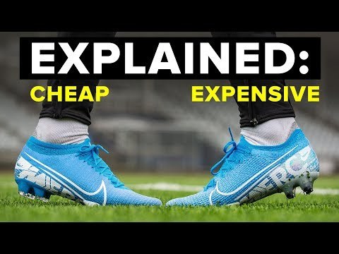 EXPENSIVE vs CHEAP football boots explained