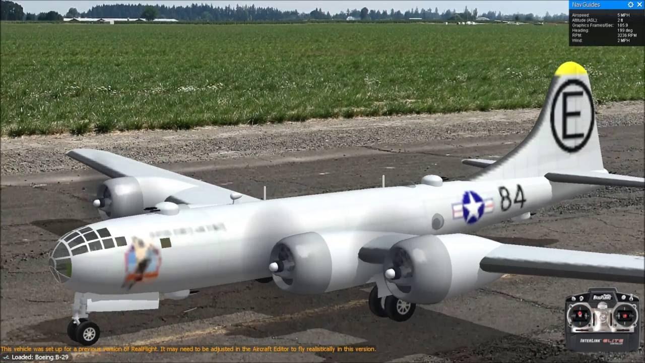 ラジコン飛行機 大型爆撃機 B 29 スーパーフォートレス Boeing B 29 第