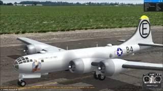 ラジコン飛行機 大型爆撃機 B-29 スーパーフォートレス Boeing B-29 第二次世界大戦