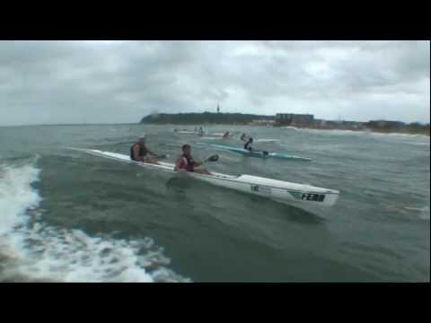 Varsity College Marine Surfski Series 2012 - Race 1 - Borland Financial Service Surfski Challenge