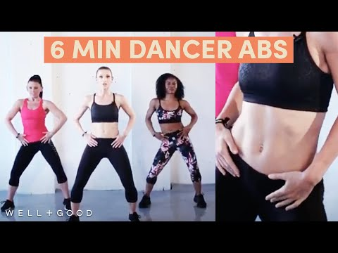 Want dancer abs? Try this 6-minute workout from DanceBody's Katia Pryce | Sweat Series | Well+Good