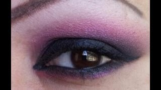 Black and berry eyeshadow Thumbnail