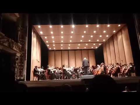 Concierto de apertura 2018 de la Orquesta Sinfónica de Oaxaca.