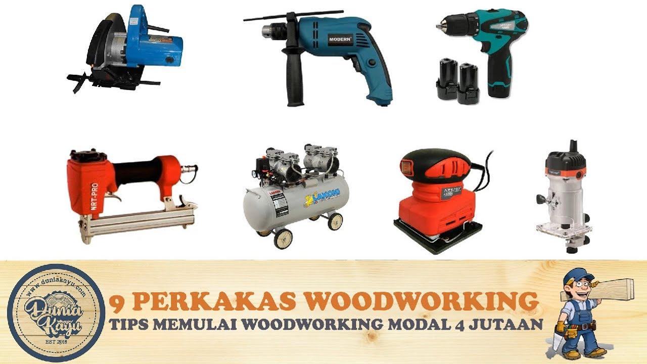 9 Perkakas Teknik Wajib U Pemula Memulai Woodworking Hobi Usaha Kayu Furniture Mebel Modal 4 Jutaan Youtube