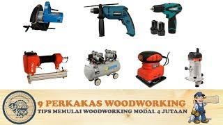 9 Perkakas Teknik WAJIB U Pemula Memulai Woodworking Hobi Usaha Kayu Furniture Mebel Modal 4 Jutaan