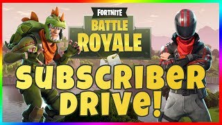 ROAD TO 100K SUBS! Fortnite Battle Royale with iVoli Can We Get A Win?