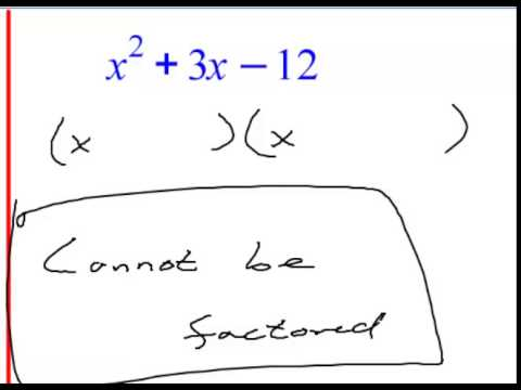 Algebra 2 Chapter 4 Section 3 Lecture