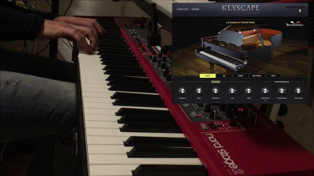 Many Rivers To Cross - Spectrasonics Keyscape (Little Demo of the C7 Grand  Piano)