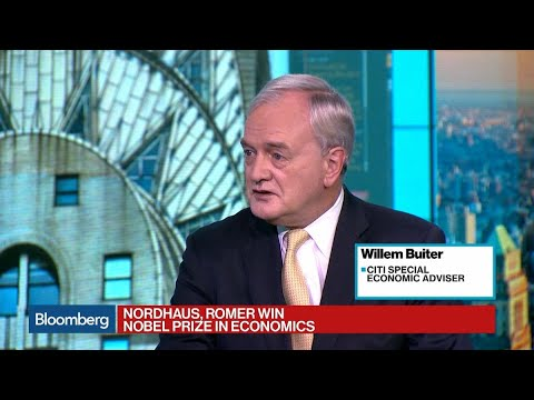 Nordhaus, Romer Win 2018 Nobel Prize in Economic Sciences