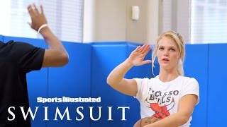 Truth Or Dare HORSE: Jimmy Butler Vs. Erin Heatherton | Sports Illustrated Swimsuit