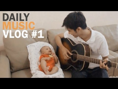 Ambilkan Bulan Bu, Can't Help Falling in Love (short cover) - Daily Music Vlog #1